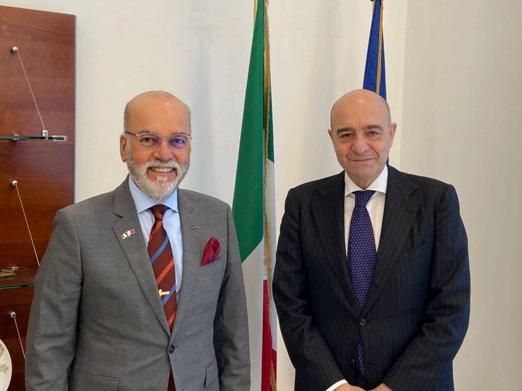 Incontro del Direttore Generale AID con l'Ambasciatore in Italia del Regno del Bahrain - 1