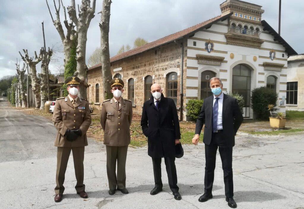 Il Direttore Generale AID visita lo Stabilimento di Fontana Liri - 1