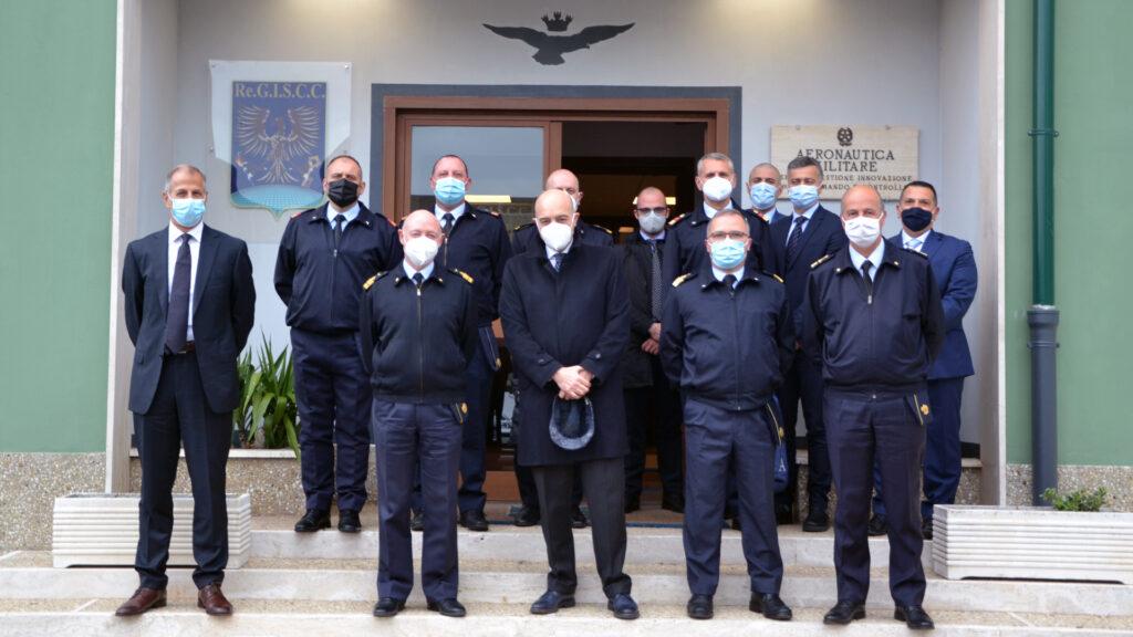 Il Direttore Generale visita il Reparto Gestione e Innovazione Sistemi di Comando e Controllo di Pratica di Mare - 1