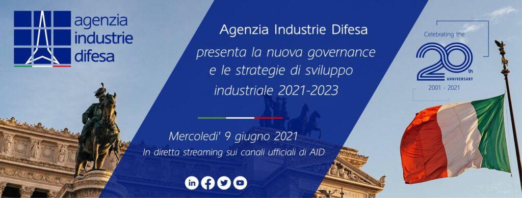 Agenzia Industrie Difesa presenta la nuova governance e le strategie di sviluppo industriale 2021-2023 - 1
