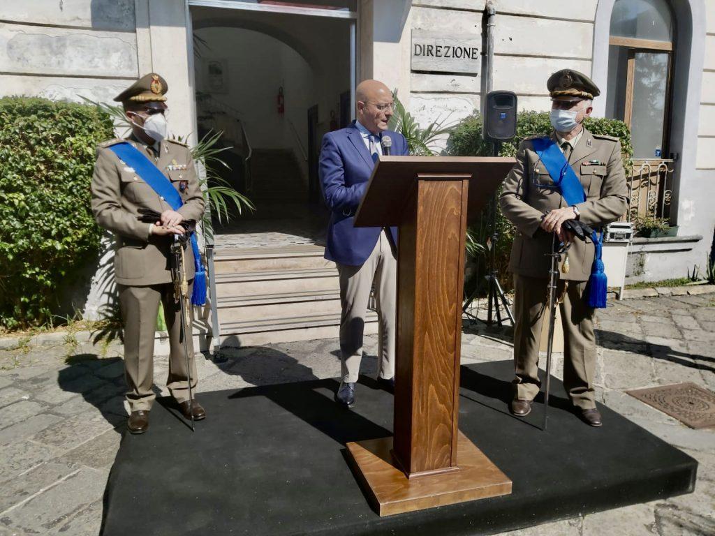 Cambio Comando allo Stabilimento Militare di Torre Annunziata alla presenza del Direttore Generale AID - 1